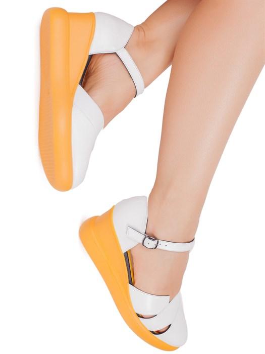 Туфли 2400-R001-06 BEYAZ - фото 6223