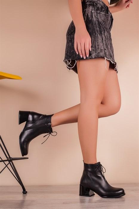 Ботинки 5401-R002-02 SIYAH DERI - фото 6506