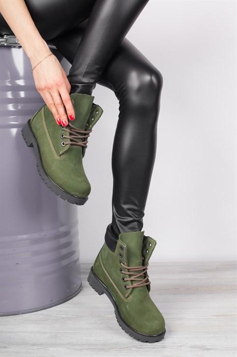 Ботинки 091-2 KHAKI - фото 7963