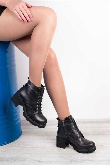Ботинки 3032-04 SIYAH - фото 8763