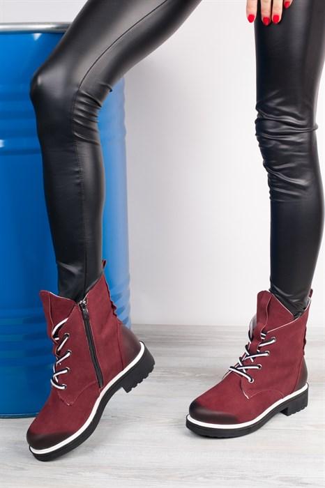 Ботинки 5043-R051-01 BORDO - фото 8817