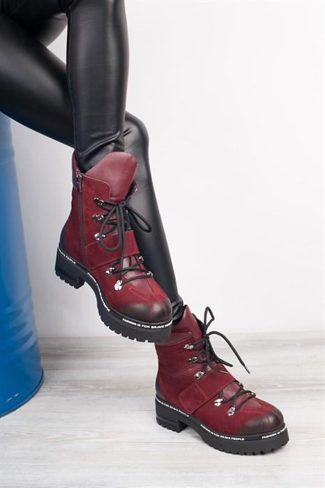 Ботинки 5151-R389 BORDO - фото 8848