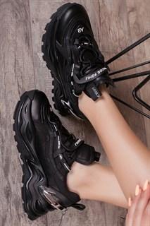 Кроссовки 2105-1 BLACK - фото 10301
