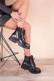 Ботинки 5307-R002-02 SIYAH DERI