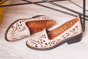Туфли летние 7019-1-03 Большие - фото 5819
