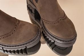 Ботинки Челси 999 HAKI NUBUK - фото 6461