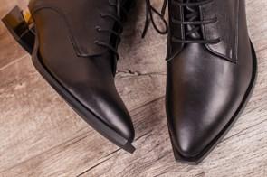 Ботинки 5402-R002 SIYAH DERI - фото 6471
