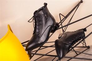 Ботинки 5402-R002 SIYAH DERI - фото 6473