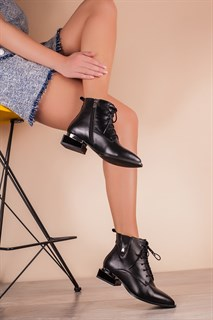 Ботинки 5402-R002 SIYAH DERI - фото 6474
