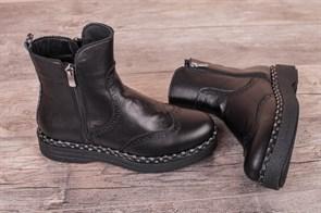 Ботинки  438 BLACK - фото 6681