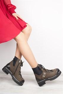 Ботинки 5143-R047 KHAKI - фото 8843