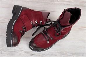 Ботинки 5151-R389 BORDO - фото 8851