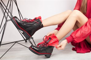 Ботинки 5212-R600-08 SIYAH - фото 8904