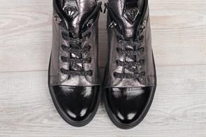 Ботинки 354-30-58мех - фото 9041