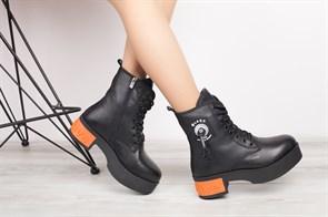Ботинки 5254-R002-06 SIYAH - фото 9617