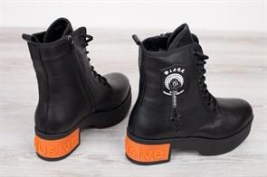 Ботинки 5254-R002-06 SIYAH - фото 9618