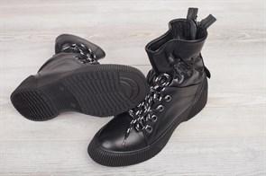 Ботинки 5202-R1208 GRI NUBUKмех - фото 9752