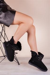 Ботинки 206-89 SIYAHмех - фото 9880