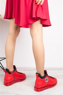 Ботинки 5151-R389 BORDO - фото 9891